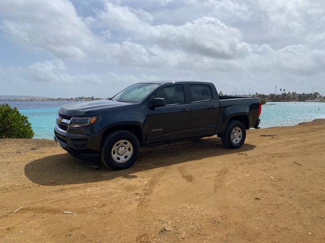 Tropical car rental Bonaire - Chevrolet Colorado
