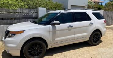 Ford Explorer Turbo white