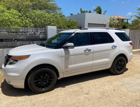 Ford Explorer New model White